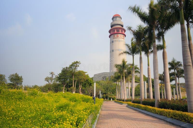Xiamen-wutong Leuchtturm lizenzfreies stockbild