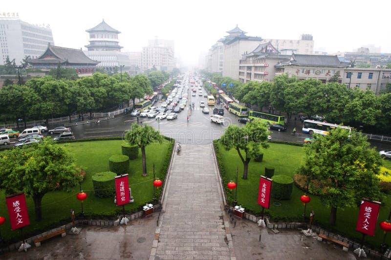 Xian - Китай стоковые фотографии rf