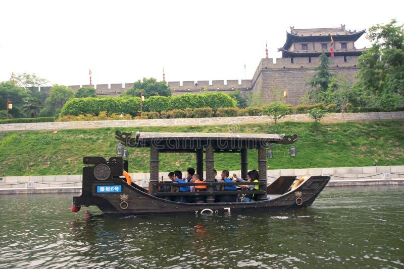 Xian Ancient City Wall fotos de stock royalty free