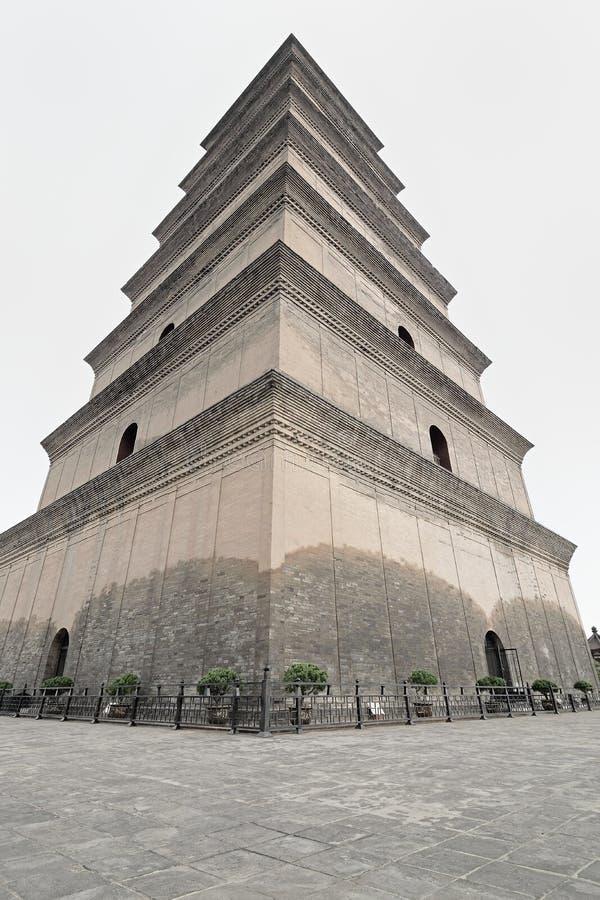 Xian China-Big Wild Goose Pagoda fotografia de stock royalty free