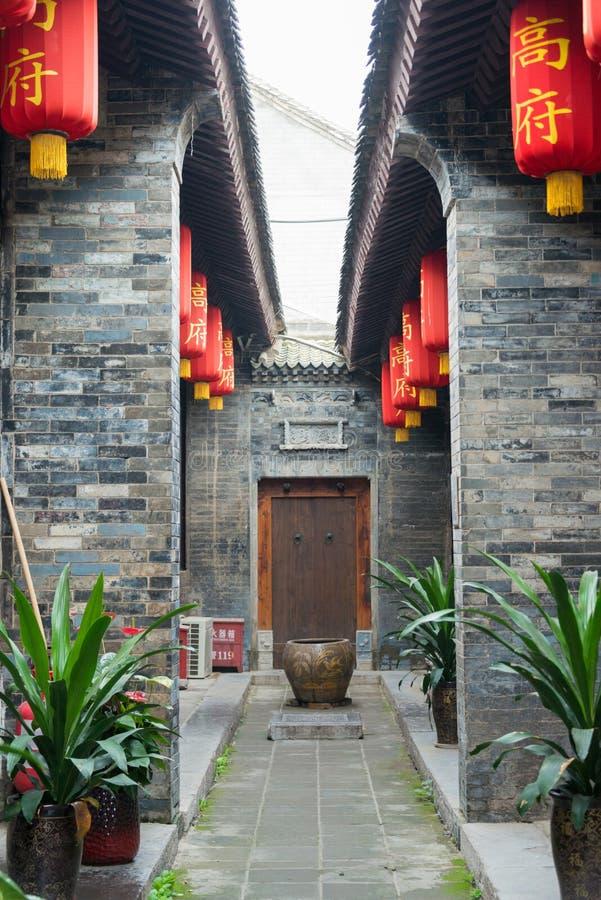 XIAN, CHINA - OCT 20 2014: De Volkswoonplaats van Gao Yuesong (Gao stock fotografie