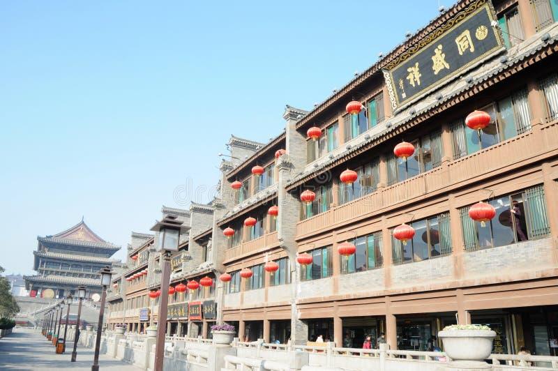 Xian Chine images libres de droits