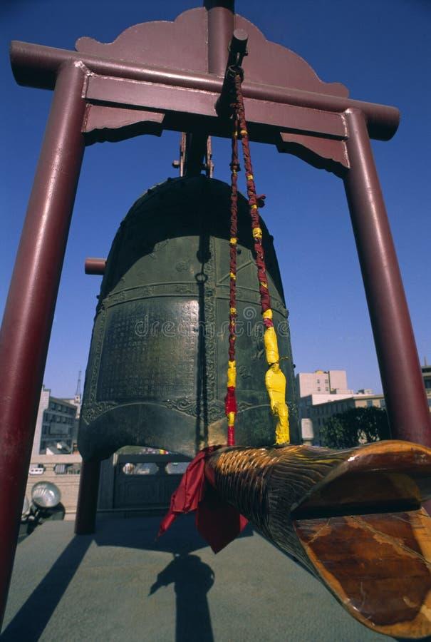 Xian grande Bell immagine stock libera da diritti