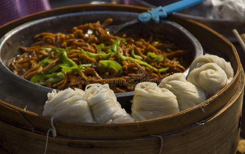 Xian-Snäcke stockfoto