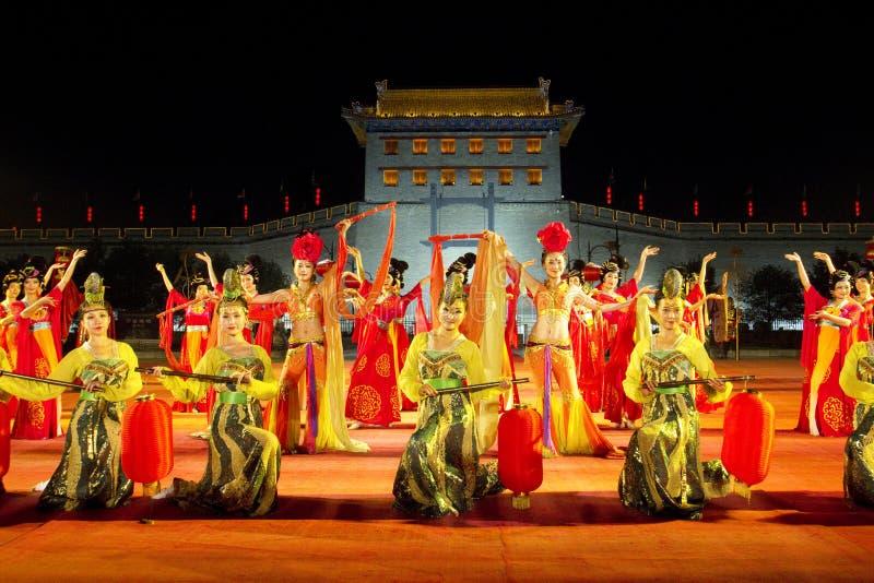 Xian stad, Kina royaltyfri fotografi