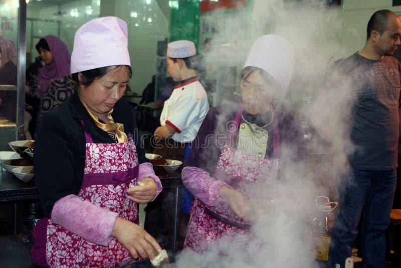 Xian Street Food fotografering för bildbyråer