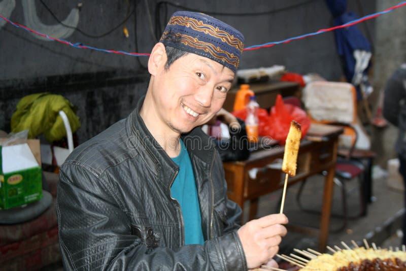 Xian Street Food royaltyfri fotografi