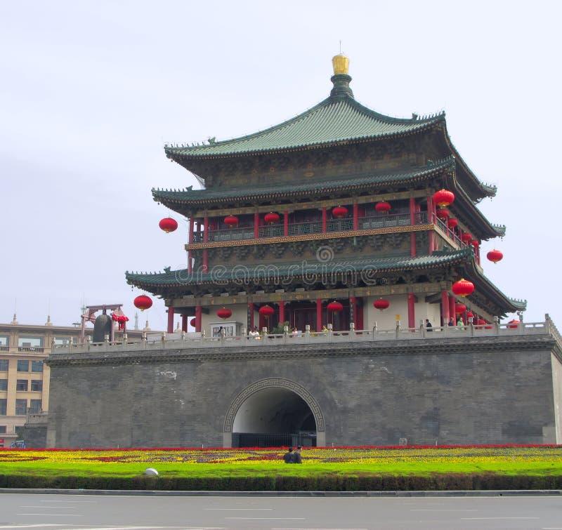 Xian wieży zdjęcia royalty free
