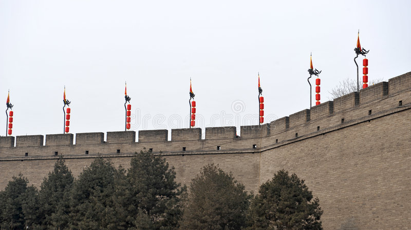 Xian(xi an) city wall