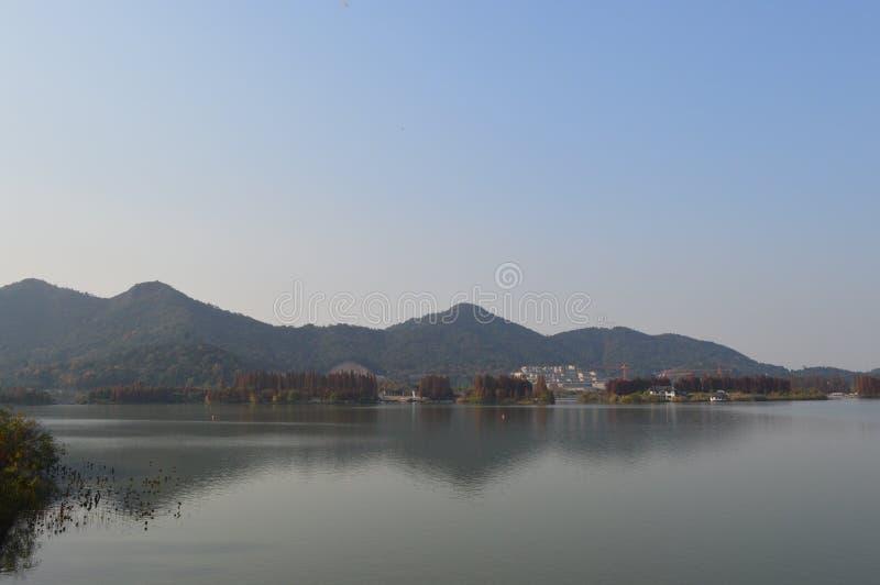 XiangHu湖 库存照片