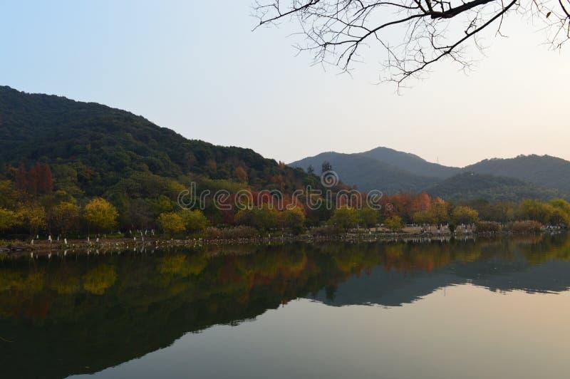 XiangHu湖 免版税库存图片