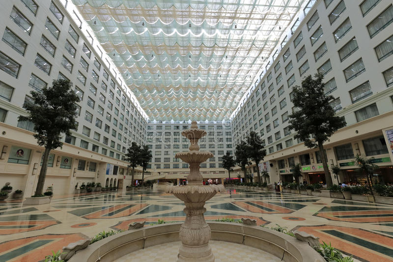 Xianglu grand hotel atrium royalty free stock photography