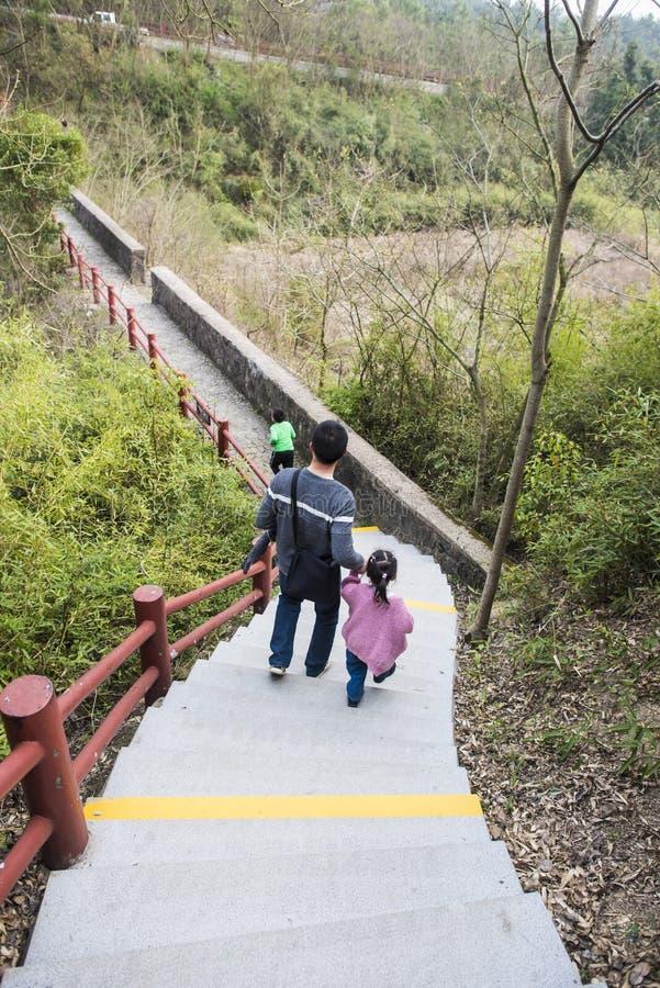 Xianshan湖风景点 免版税图库摄影
