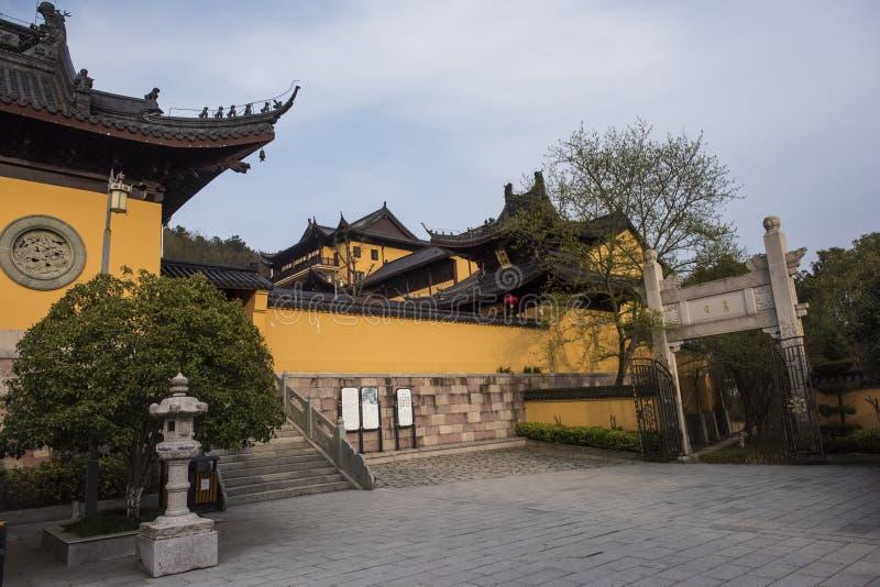 Xianshan湖风景点 库存图片