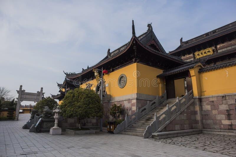Xianshan湖风景点 免版税库存照片