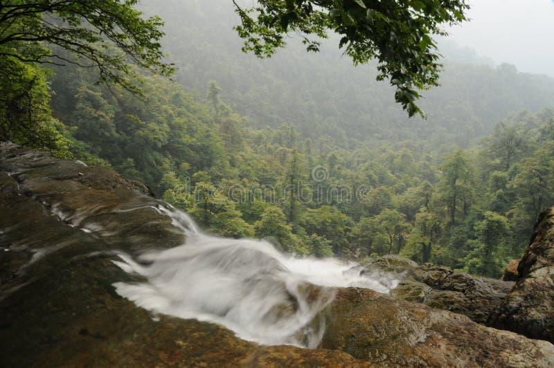 XiaoChaoBa Landschaft lizenzfreies stockbild