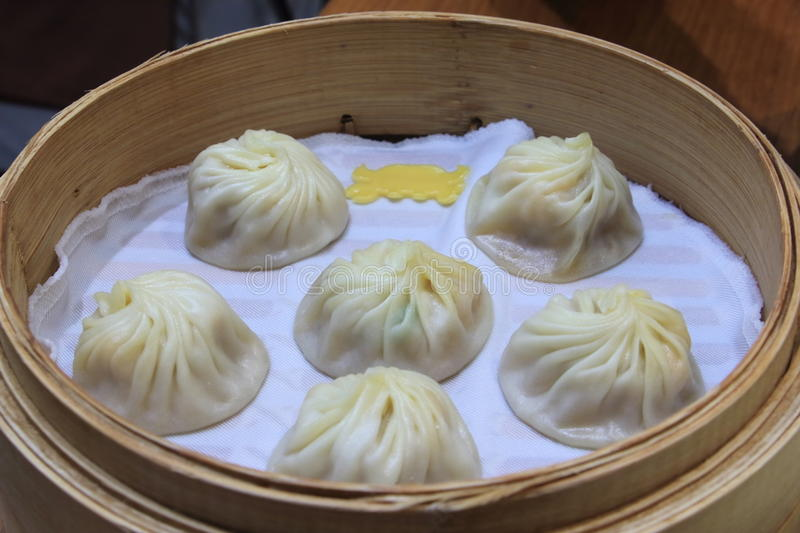 Xiaolongbao, alimento chinês imagem de stock royalty free