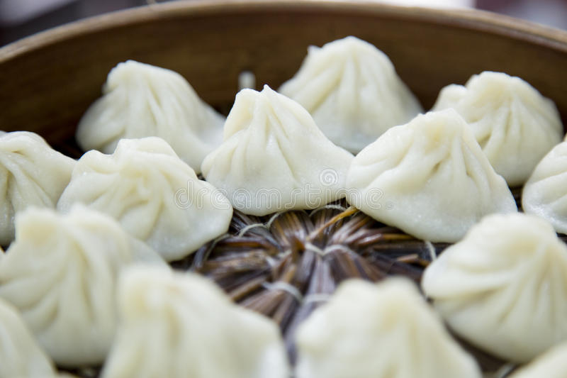 Xiaolongbao chino del dim sum de Shangai imágenes de archivo libres de regalías