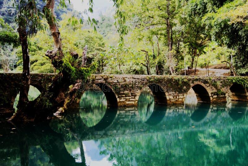 Xiaoqikong Guizhous Libo Naturschutzgebiet lizenzfreie stockfotografie