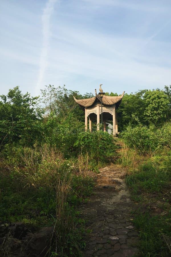 Xiaoshan Hangzhou Beigan berg royaltyfria foton