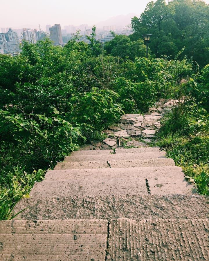 Xiaoshan Hangzhou Beigan berg royaltyfri bild
