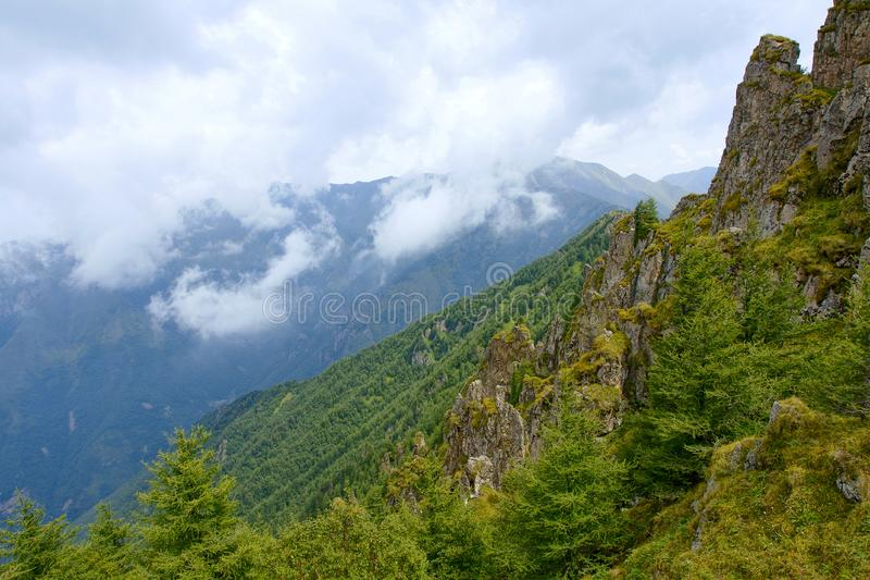 Xiaowutai Mountain scenery stock photos