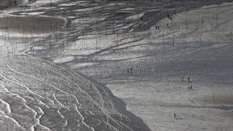 Xiapu, l'estran le plus bel de la Chine photographie stock libre de droits