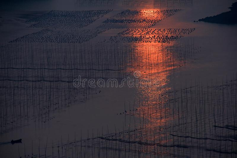 Xiapu sceneria obrazy stock