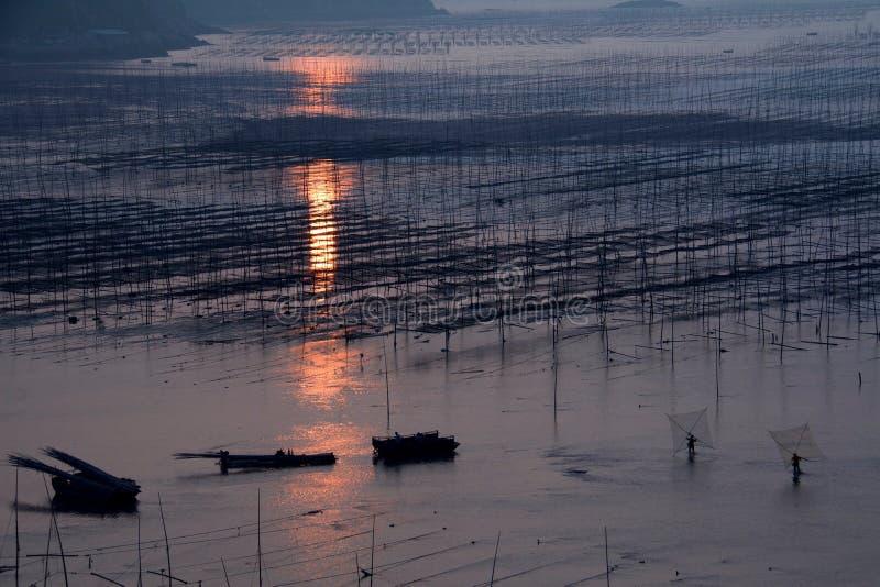 Xiapu sceneria obrazy royalty free