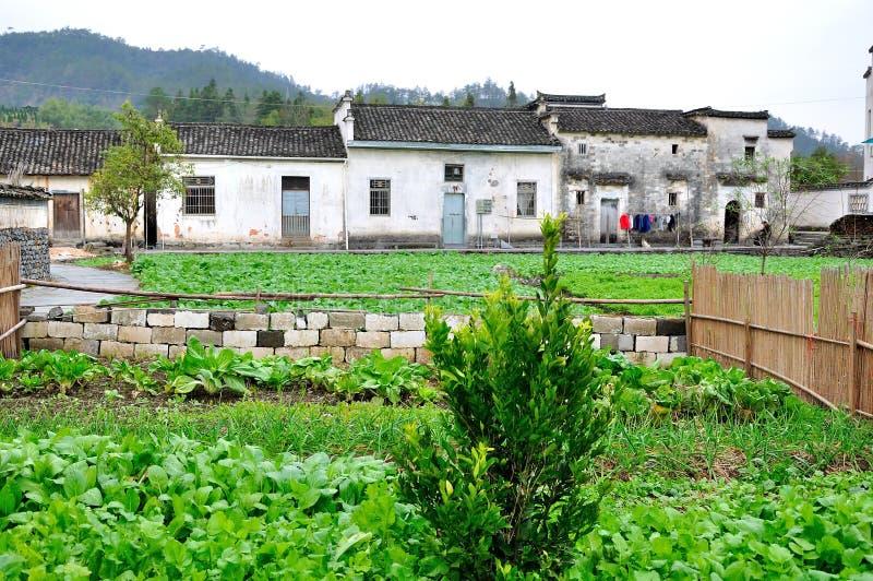 Xidi Village Garden royalty free stock images