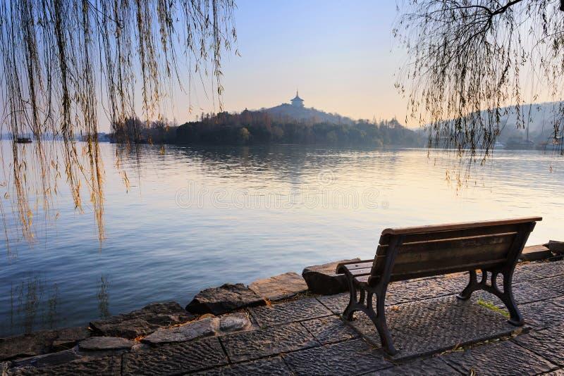 Xihu sjö arkivbilder