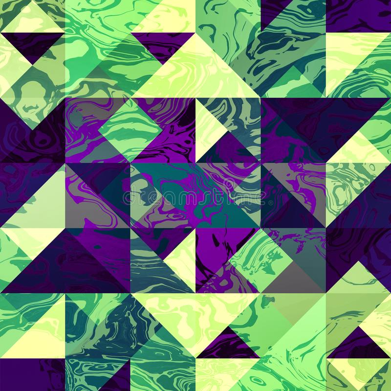 XIII geométrico - arte de la pared - impresión lista - HQ ilustración del vector