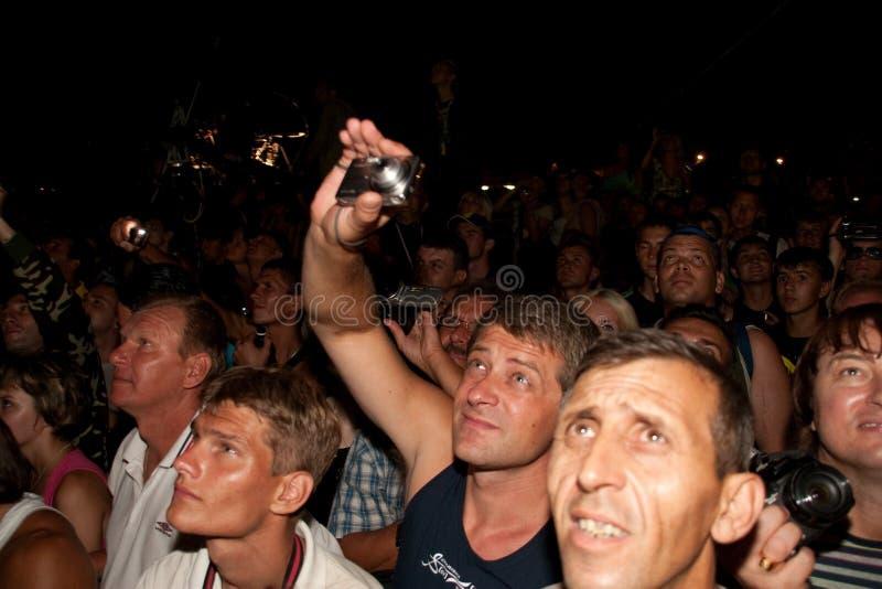 XIII international байк-show, Sevastopol. stock photos