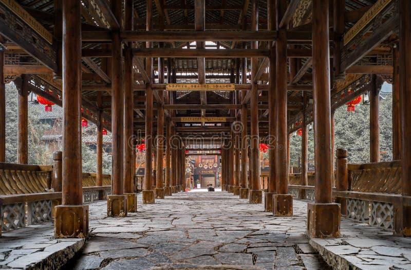 Xijiang χίλιο χωριό οικογενειακού Miao, Guizhou, Κίνα στοκ εικόνα