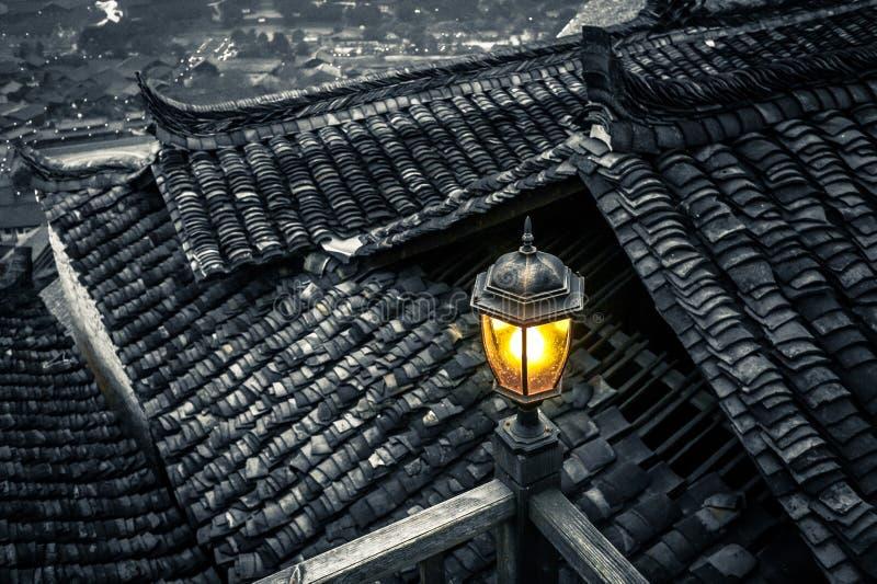 Xijiang tausend Familie Miao-Dorf, Guizhou, China lizenzfreies stockfoto