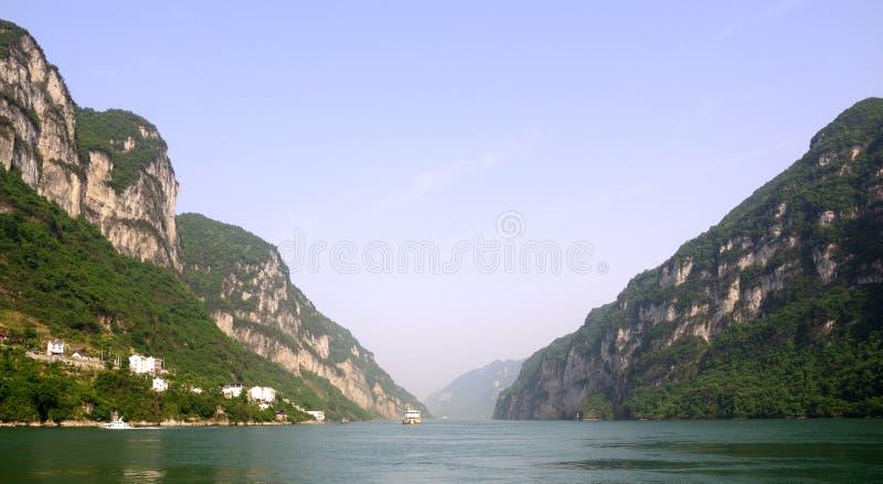 Xiling Gorge immagini stock libere da diritti