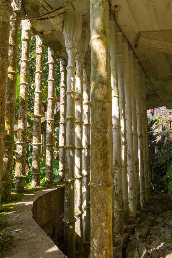Xilitla - κήπος του Edward James στοκ φωτογραφίες