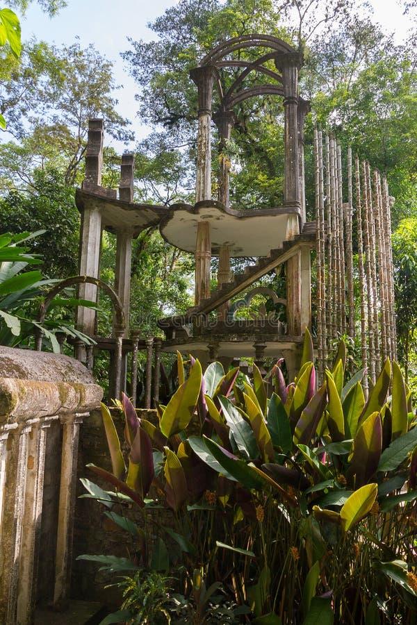 Xilitla - κήπος του Edward James στοκ φωτογραφία