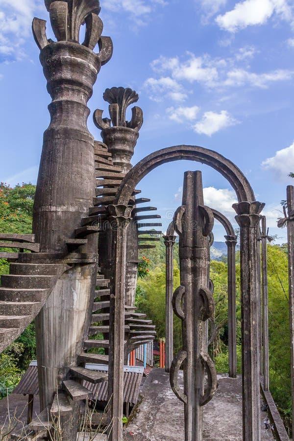 Xilitla - κήπος του Edward James στοκ εικόνα με δικαίωμα ελεύθερης χρήσης