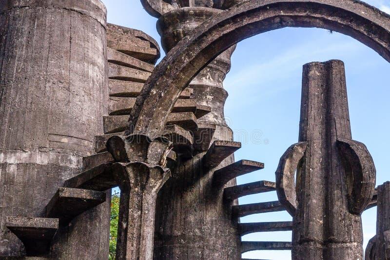 Xilitla - сад Эдварда Джеймс стоковые изображения