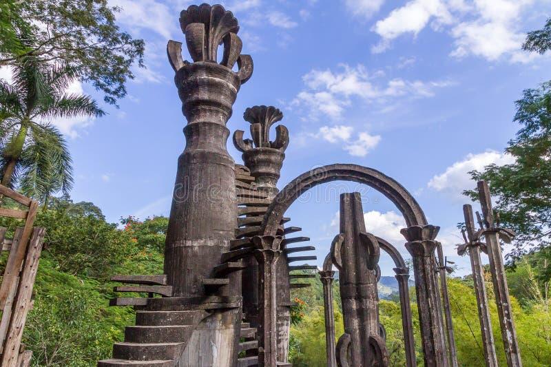 Xilitla - сад Эдварда Джеймс стоковая фотография rf