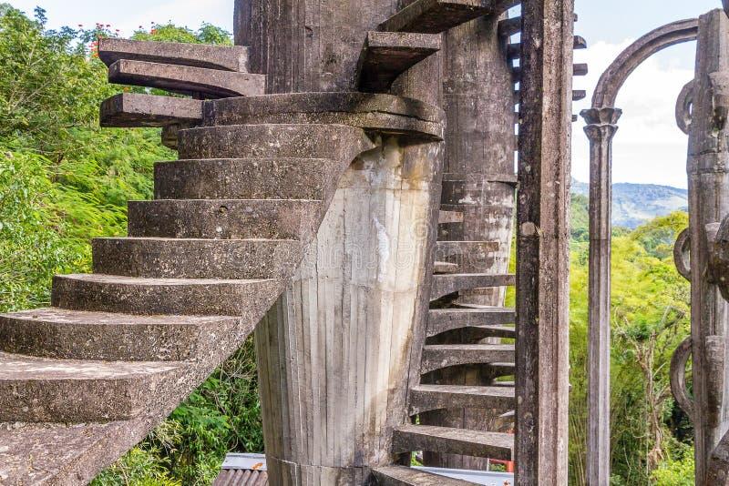 Xilitla - сад Эдварда Джеймс стоковое фото
