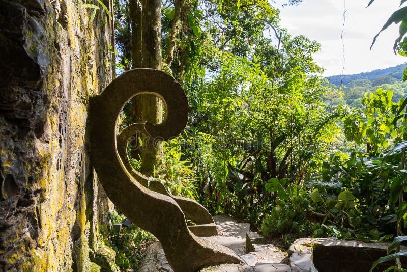 Xilitla - Edward James Garden photo stock