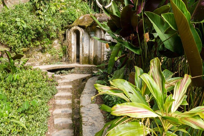 Xilitla - Edward James Garden images stock