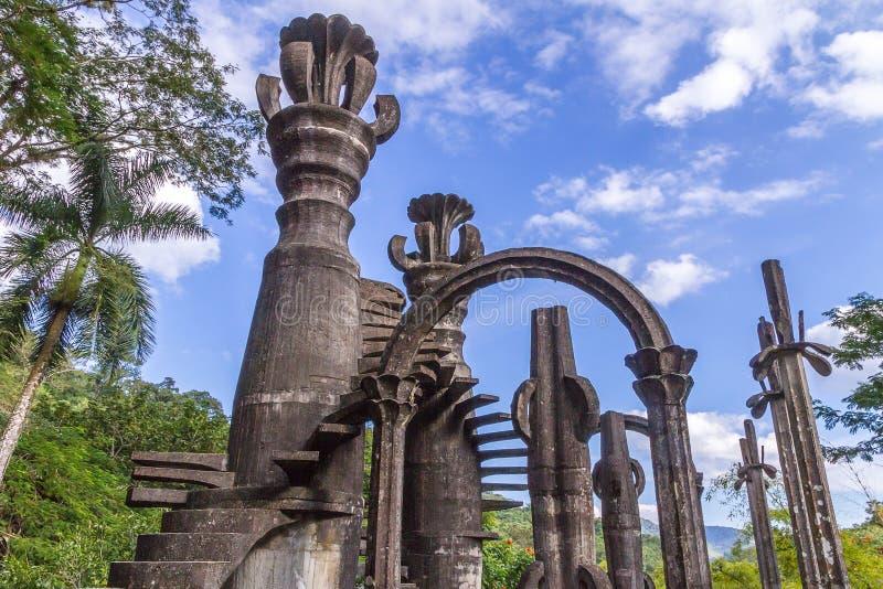 Xilitla - Edward James Garden photos libres de droits
