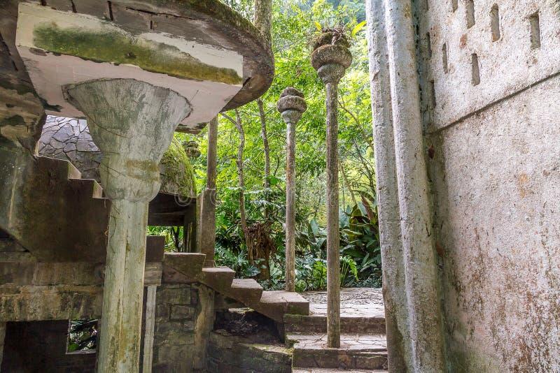 Xilitla - Edward James Garden royalty-vrije stock foto's