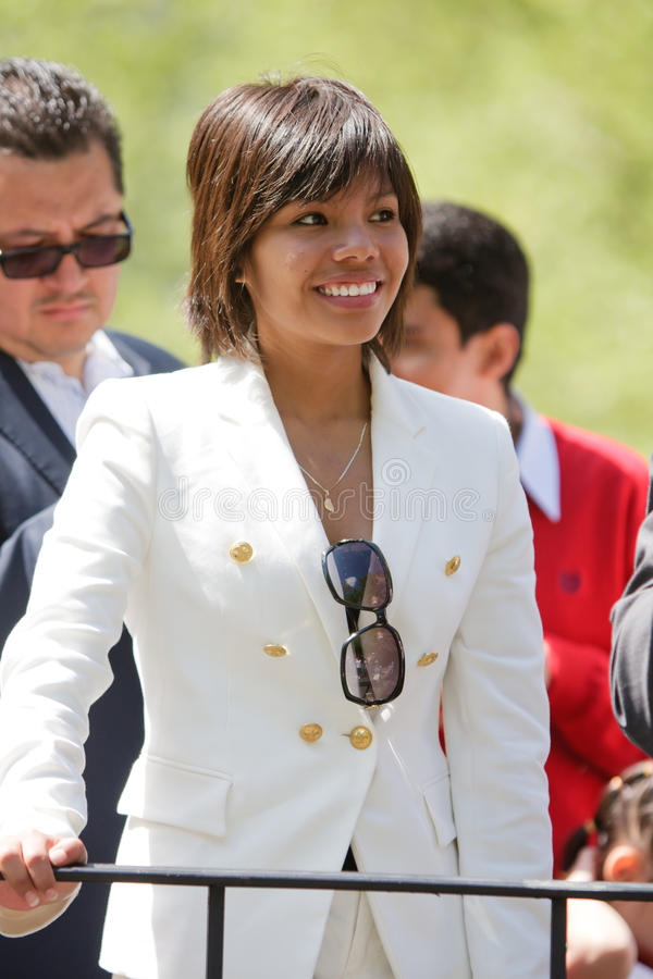 Ximena Navarrete imagen de archivo libre de regalías