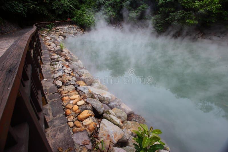 Xin Beitou Gorąca wiosna fotografia stock