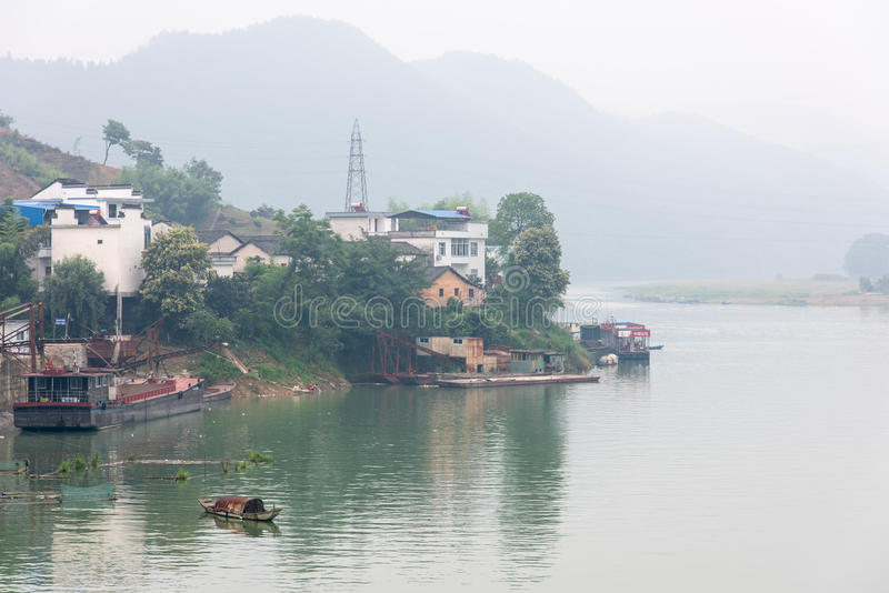 Xinan-Fluss stockfotografie