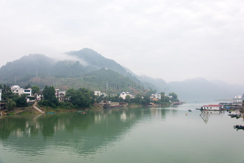 Xinan river gallery stock photography